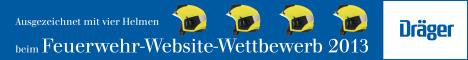Dräger Feuerwehr-Website-Wettbewerb
